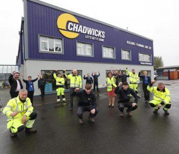 Garveys Builders Merchants Roscommon rebrands to Chadwicks
