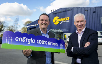 Chadwicks Group partners with Energia to invest in 100% renewable energy across its 50 nationwide locations