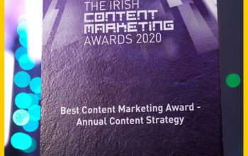 Chadwicks win 'Best Content Marketing Award- Annual Content Strategy'