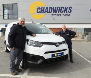 Chadwicks customer receives brand new 211 Toyota City Proace