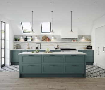 The Panelling Centre reveal why an organised kitchen design is essential for a healthy eating regime