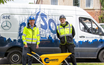 Chadwicks shares its support for DIY SOS: The Big Build Ireland